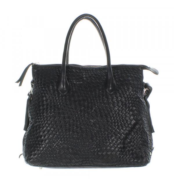 Another Bag La Serei L Plaited Shopper schwarz 39/49cm