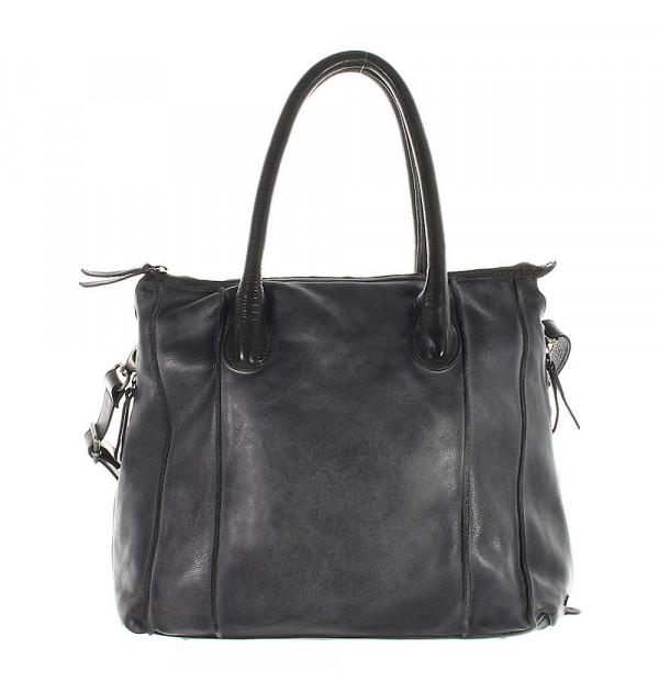 Another Bag La Sereine Vintage Handtasche test dunkelgrau 35cm