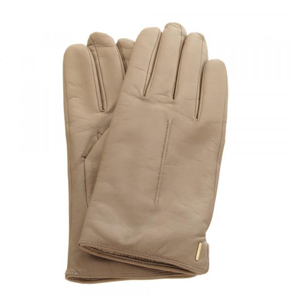 Boss Gyviza Damen Handschuhe beige Grösse 8,5