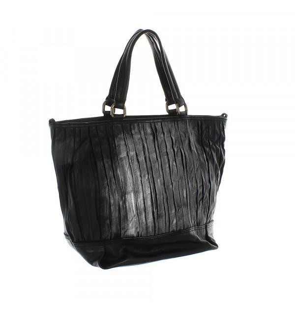 Caterina Lucchi Vitello Bag schwarz 28cm