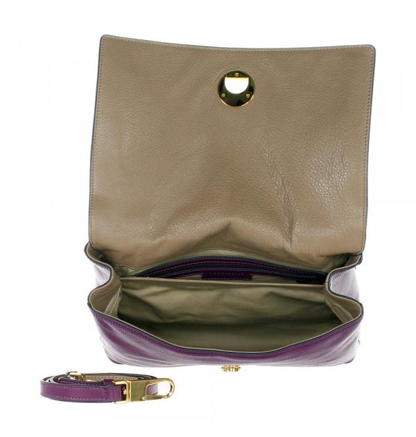 Coccinelle Liya Henkeltasche violett 30cm