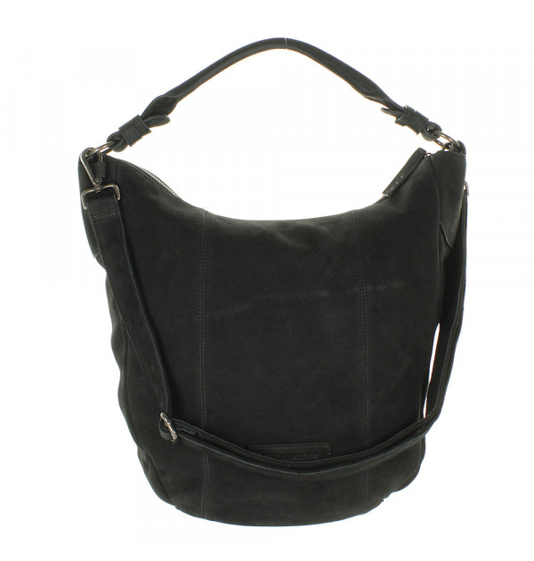 FREDsBRUDER Cloudy Hobobag schwarz 37cm