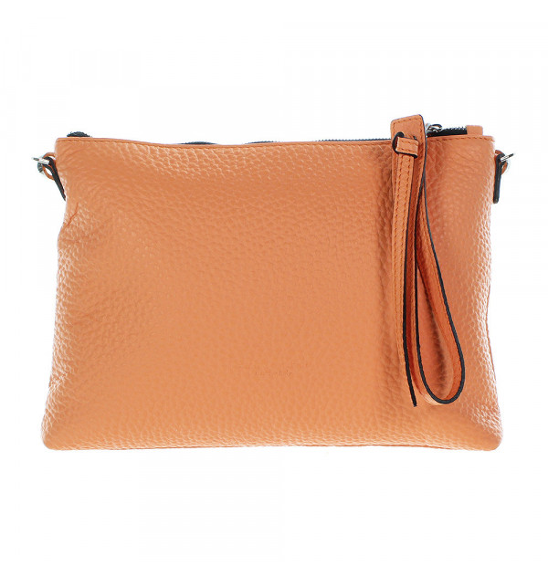 Gianni Chiarini Caribbean shoulder bag orange 29cm