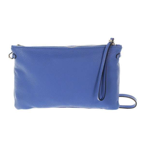 Gianni Chiarini Hermy Clutch blau 28cm