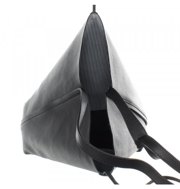 Gianni Chiarini Ribbon Line Beuteltasche schwarz 30cm