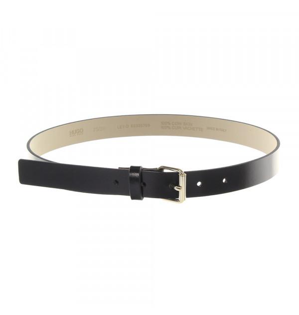 HUGO Ley-D belt black 75cm
