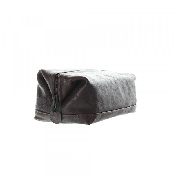 Il Bisonte Beauty Case braun