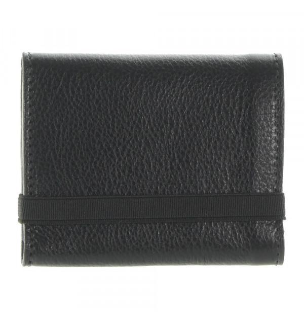 Il Bisonte Geldbörse schwarz