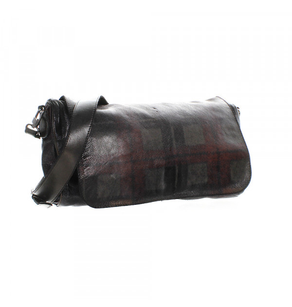 Numero 10 Tasche Georgia-Tar grau/braun
