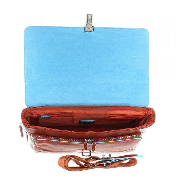 Piquadro Blue Square Laptoptasche orange 42cm