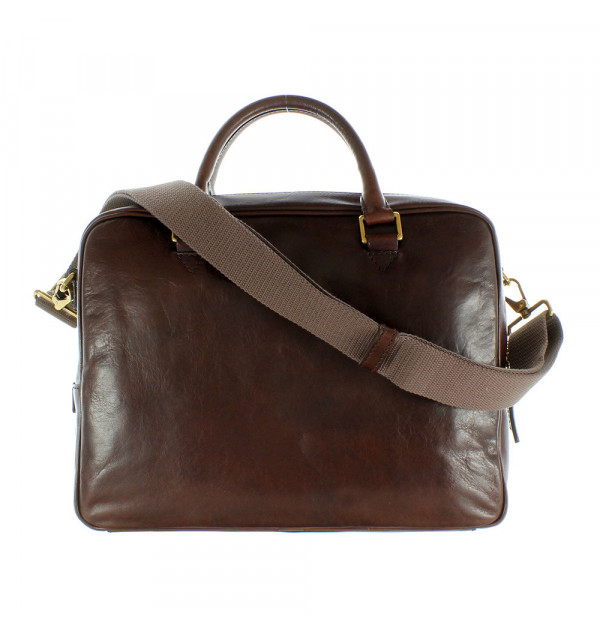 TheBridge Story Uomo Shopper Work Leather brown 06410501-14